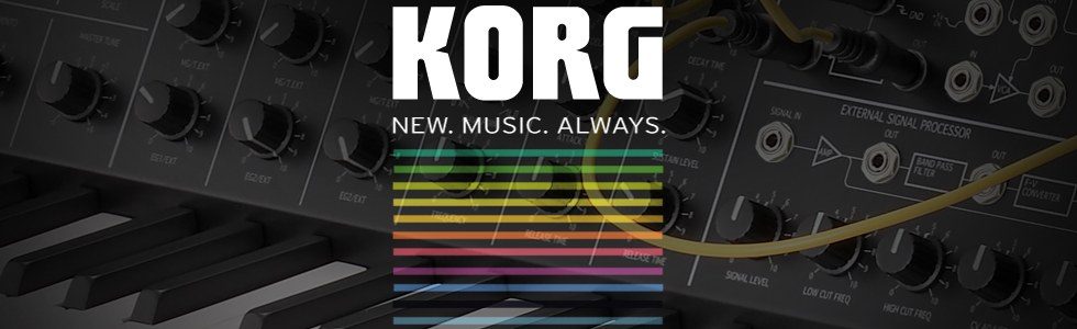 KORG. New. Music. Always.